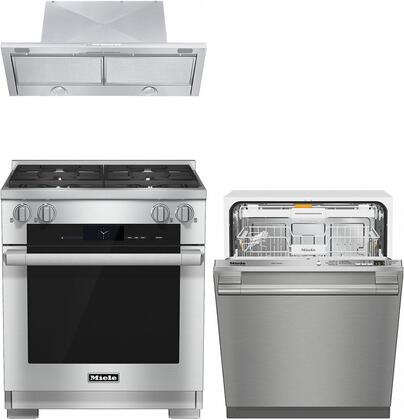 Miele  887294 Kitchen Appliance Package Stainless Steel, main image