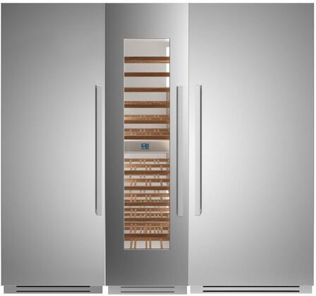 Bertazzoni  1309160 Column Refrigerator & Freezer Set Stainless Steel, 1