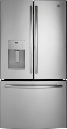 GE  GFE26JYMFS French Door Refrigerator Stainless Steel, GFE26JYMFS French Door Refrigerator