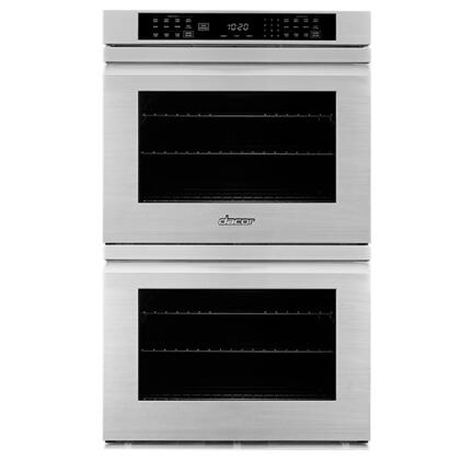 Dacor Heritage HWO227FS Double Wall Oven, Front View
