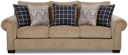 Lane Furniture Gavin 7592BR03GAVINMUSHROOM Stationary Sofa Brown, Sofa