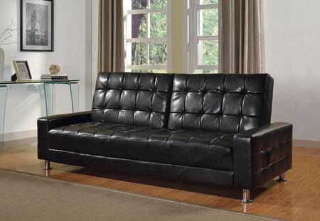 Acme Furniture Naeva 57091 Sofa Bed Black, Sofa