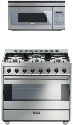 Smeg 890382 Kitchen Appliance Package & Bundle Stainless Steel, main image