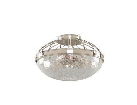 Kalco Montauk 311341PN Ceiling Light, 311341PN