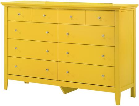 Glory Furniture Hammond G5402D Dresser Yellow, G5402D Main Image