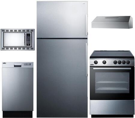 Summit 888179 Kitchen Appliance Package & Bundle Stainless Steel, Main image