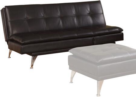 Acme Furniture Frasier 57080 Sofa Bed Black, Adjustable Sofa