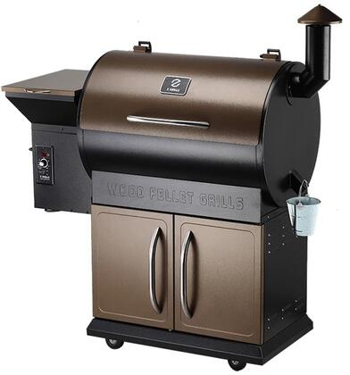 ZPG-700D 48″ Freestanding Pellet Grill with 694 sq. in. Total Cooking Area  Digital Controller  20 lb Hopper Capacity  in