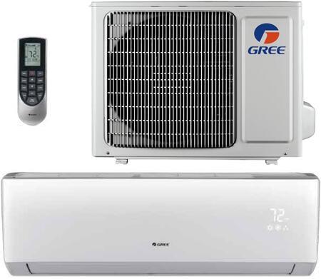Gree LIVS09HP230V1B 9,000 BTU 16 SEER LIVO+ Wall Mount Ductless Mini Split Air Conditioner Heat Pump 208-230V