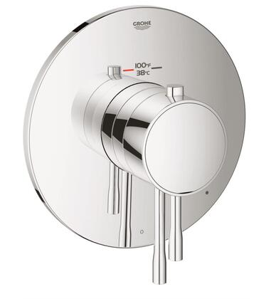 GrohFlex Essence 19987001 Single Function Thermostatic Trim with Control Module  in