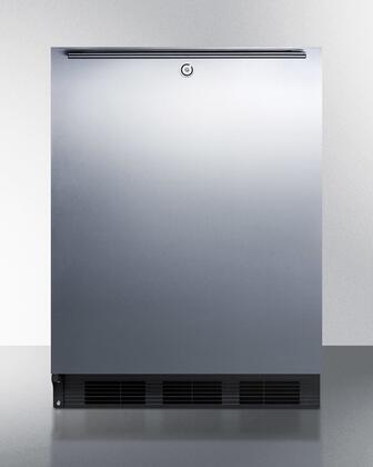 Summit  SPR7OSSHLHD Compact Refrigerator Silver, SPR7OSSHLHD Outdoor Refrigerator