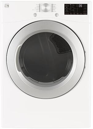 26-81362 27″ Electric Dryer with 7.4 cu. ft. Capacity  Sanitize Cycle  Touch Controls  Wrinkle Guard and Dual Sensor System in