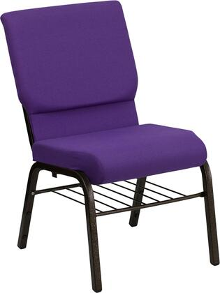 Flash Furniture Hercules XUCH60096PUBASGG Accent Chair Purple, 1
