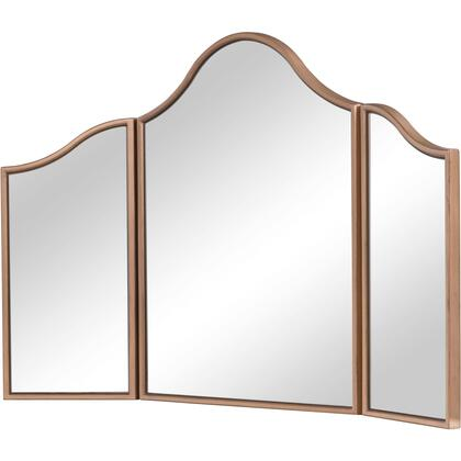 MF6-1105G Dressing Mirror 39″ X 24″ In Gold