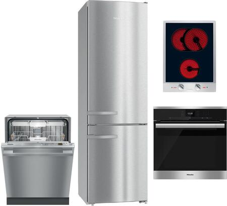 Miele  1138626 Kitchen Appliance Package Stainless Steel, Main image