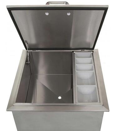 HTX-ICEBIN-18X18 18″ x 18″ Drop-In Ice Bin in Stainless