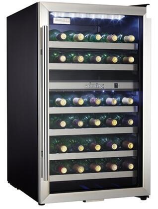 Danby  DWC114BLSDD Wine Cooler 26-50 Bottles Black, Main Image