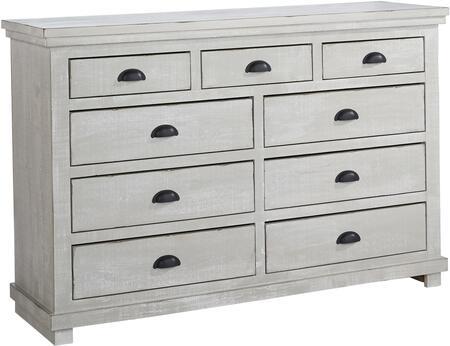 Progressive Furniture Willow P61523 Dresser Gray, P615 23