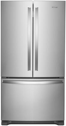 Whirlpool WRF540CWHZ 36 Inch Counter Depth French Door Refrigerator