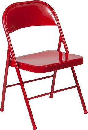 Flash Furniture HERCULES Series BDF002REDGG Folding Chair Red, BD F002 RED GG