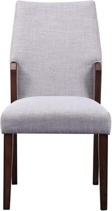 Bernice Collection 72297 Side Chair (Set-2) in Brown