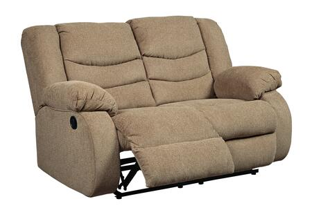 Signature Design by Ashley Tulen 9860486 Loveseat Brown, Main Image