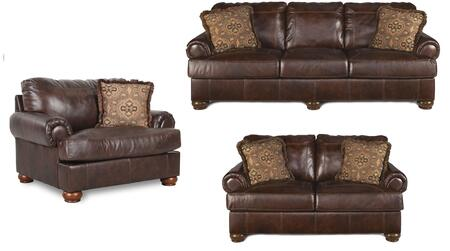 Signature Design by Ashley Axiom 42000SLC Living Room Set Brown, Main Image