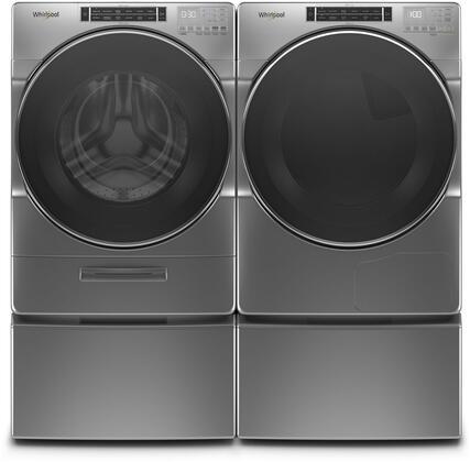 Whirlpool  979222 Washer & Dryer Set Chrome, 1