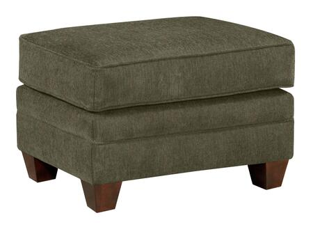Broyhill Greenwich 36765861226 Living Room Ottoman Green, Main Image