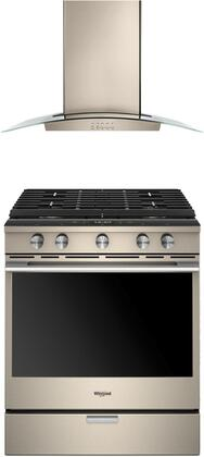 Whirlpool  940991 Kitchen Appliance Package Bronze, 1