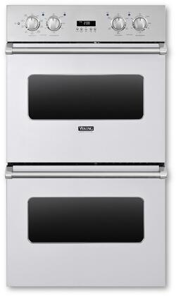 Viking 5 Series VEDO1302WH Double Wall Oven White, Main Image