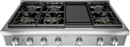 Thermador Professional PCG486WD Gas Cooktop Stainless Steel, PCG486WD48-Inch Rangetop