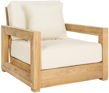 Safavieh Montford Collection Cpt1000a 29 Inch Outdoor Armchair