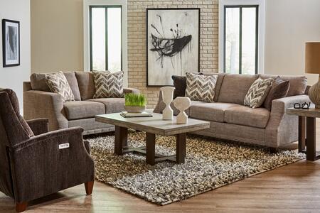 Lane Furniture Jenkins 802503CROSBYPEWTERSET Living Room Set Brown, Living Room Set