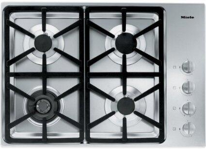 Miele  KM3464G Gas Cooktop Stainless Steel, Main View