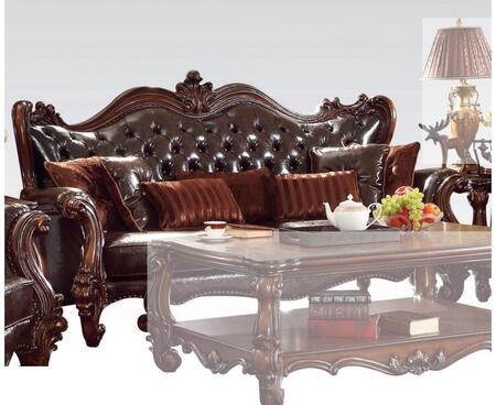 Acme Furniture Versailles 52120 Stationary Sofa Brown, Sofa
