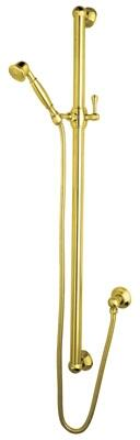 Rohl Spa Shower 1284IB Shower Head, Inca Brass