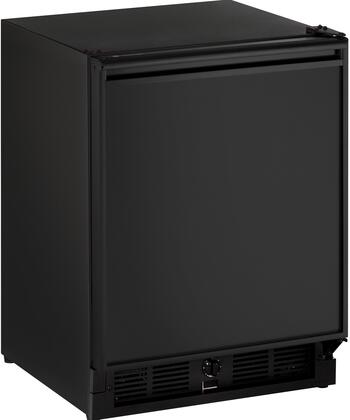 U-Line ADA Series U29RB00A Compact Refrigerator Black, Main Image