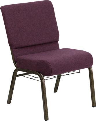 Flash Furniture Hercules FDCH02214GV005BASGG Accent Chair Purple, FDCH02214GV005BASGG side