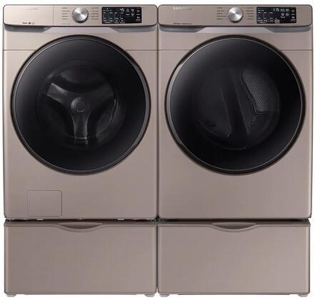 Samsung  1010841 Washer & Dryer Set Champagne, 1
