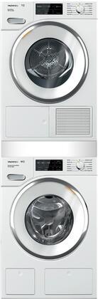 Miele 890680 Washer & Dryer Set White, Main Image