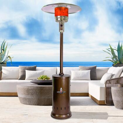 Lava Heat Verona TL7MGBRVR Outdoor Patio Heater Brown, Verona Bronze Full Size LS  56094