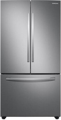 Samsung RF28T5001SR 36 Fingerprint Resistant Stainless Steel French Door Refrigerator with 28.2 cu. ft. Total Capacity, Energy Star, LED Lighting
