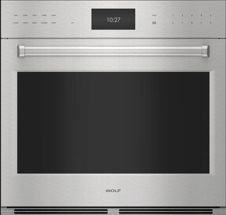 Wolf E Series SO3050PESP Single Wall Oven Stainless Steel, Main Image