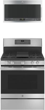 GE  1358477 Kitchen Appliance Package Stainless Steel, Main image