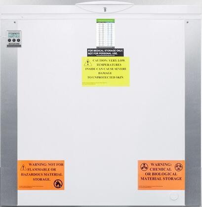 AccuCold  VT85IB Chest Freezer White, Main Image