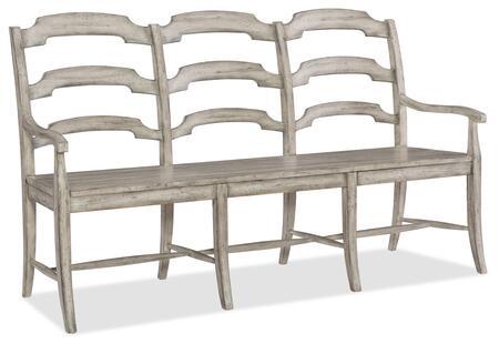 Hooker Furniture Boheme 575075315LTWD Bench, Silo Image