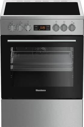 Blomberg  BERU24102SS Freestanding Electric Range Stainless Steel, Main Image