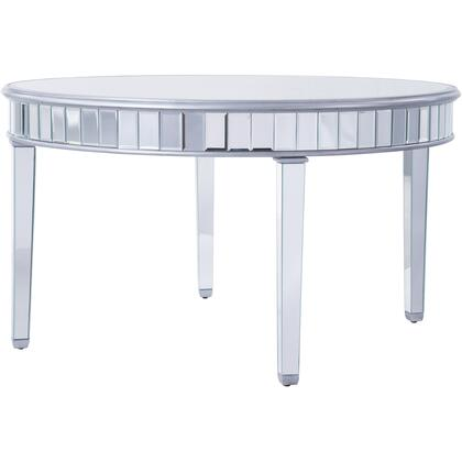 MF6-1037S Round Table D60″ In Silver