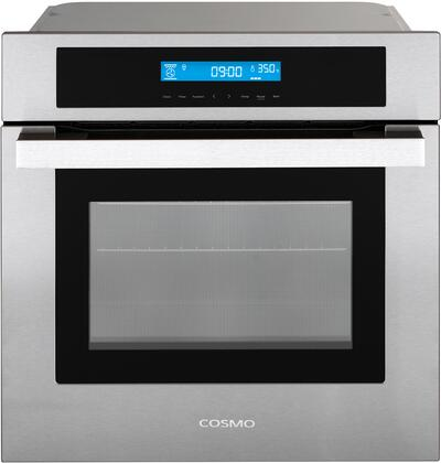 Cosmo  C106SIXPT Single Wall Oven Stainless Steel, C106SIX PT Wall Oven